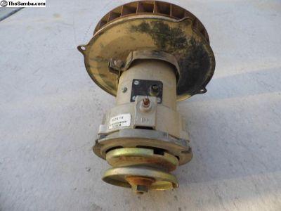 Bosch alternator /fan Assembly