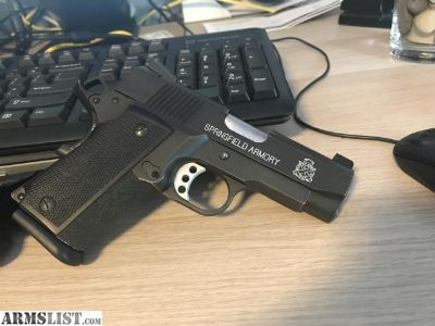 For Sale: Springfield ultra compact 1911. Great Deal!