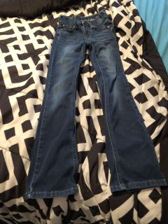 Girls size 8slim justice jeans