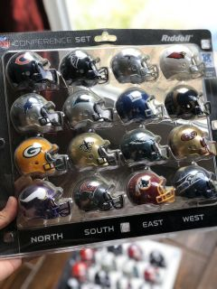 NFL Collectable Helmets