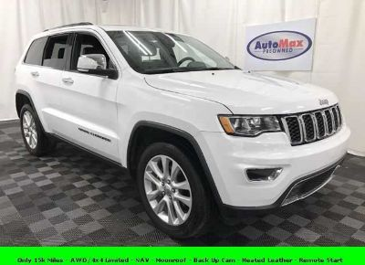Used 2017 Jeep Grand Cherokee for sale