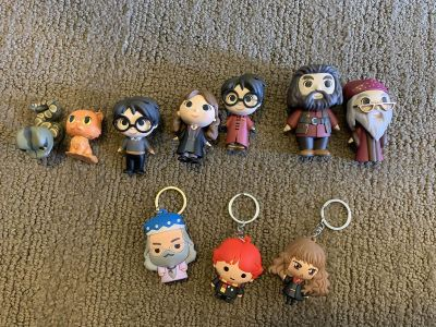 Various Harry Potter Figurines