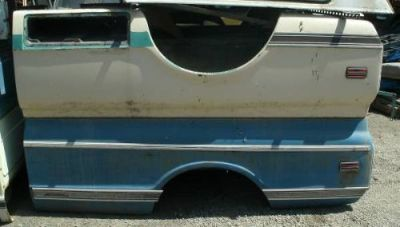 Sell 1967 -1972 GM CHEVY GMC LONGBED QUARTER PANEL BED SIDE FLEETSIDE WIDE SIDE motorcycle in Fremont, California, United States, for US $600.00