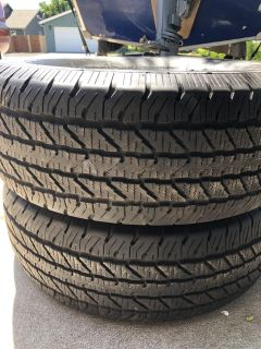 2 Cooper Discover H/R Tires 265/70R17