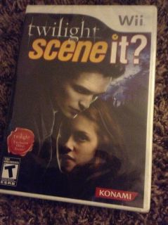 Twilight. Scene it. Wii new