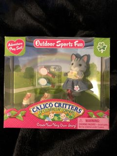 New in box Calico Critters toy