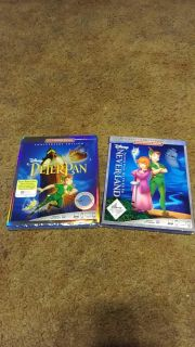 Brand new and never opened Peter Pan and Neverland