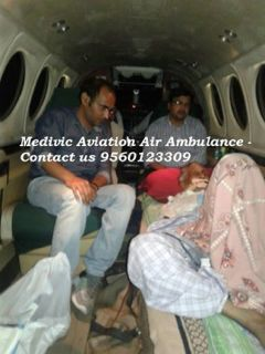 Medivic Aviation Air Ambulance Services from Bagdogra