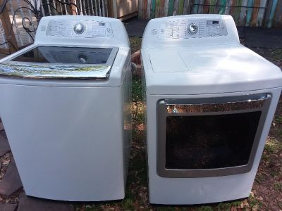 Kenmore elite washer dryer electric