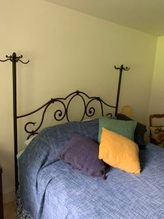 Romantic Wrought Iron Bed Frame Queen