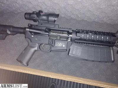 For Sale/Trade: M&P 15 with optics