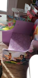 Tinkerbell desk with drawer and cup holder