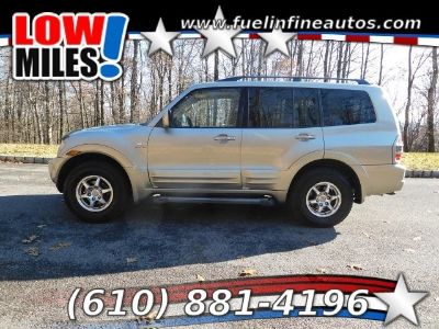 2002 Mitsubishi Montero Limited 4WD 5-Speed Automatic