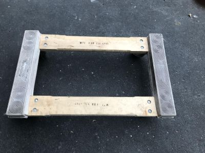 Four wheel Dolly-for moving heavy items such as Fridge, furniture etc. Covered with thick rubber.
