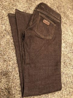 Wrangler Brown Jeans. Nice Condition. Premium. Size Large