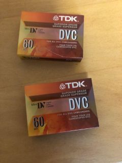 Brand New DVC camcorder tapes. $5.00