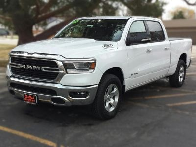 2019 RAM 1500 Big Horn (Bright White)