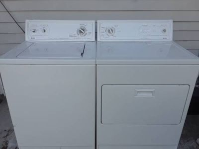 Kenmore or Whirlpool washer and dryer delivered