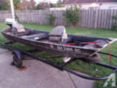 Fishing / Hunting Boat & Trailer -