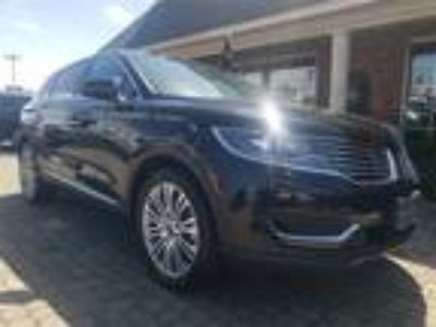 2018 Lincoln MKX Reserve AWD w Nav & Sunroof