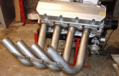 """Sell Zoomie Headers BBC dragster 2-1/4"""" mid length altered funny car style STAINLESS motorcycle in Nashville, Tennessee, United States, for US $899.00"""