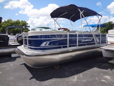 2020 Starcraft EX18 Cruise & Fish Pontoon Boats Holiday, FL