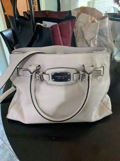 Michael Kors White Genuine Leather Handbag