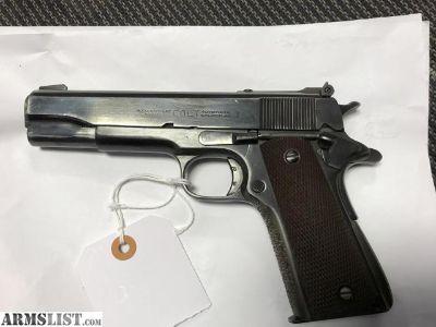 For Sale: Colt 45 Governorships model