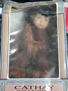 American Indian Porcelain doll
