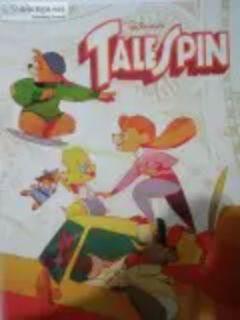 Disney tail spin take off poster