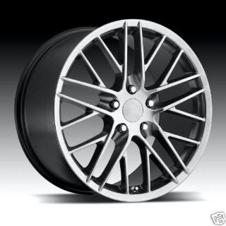 Sell 18X8.5 & 19X10 C4 C5 C6 2009 HYPER SILVER ZR1 CORVETTE WHEELS RIMS motorcycle in Victorville, California, US, for US $749.00