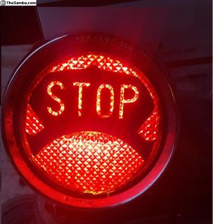STOP light Per Lux custom