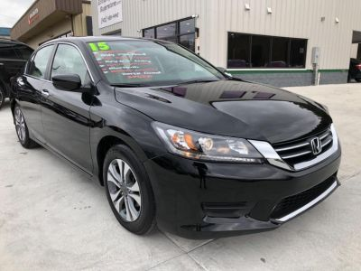 2015 Honda Accord (Black)