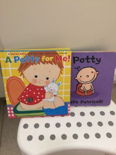 Two potty training books