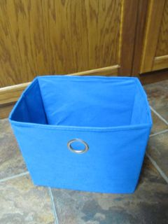 Rectangle Blue Storage Cubby $0.50
