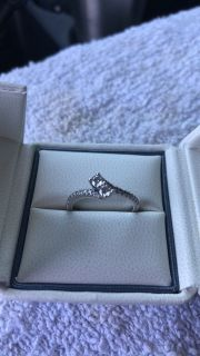 14K Ever Us Kay Jewelers Engagement Ring