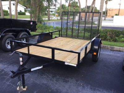 2018 Triple Crown 6X10 Utility Utility Trailers Fort Pierce, FL