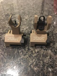 For Sale/Trade: Troy Industries Folding Battle Sights.