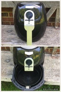 Cooks Essentials Air Fryer, barely used, works great **READ FULL DESCRIPTION BELOW