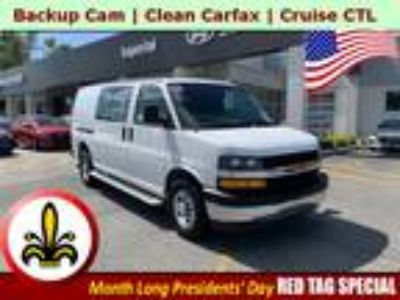 2018 Chevrolet Express 2500 Work Van Cargo