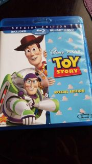 Toy story special edition includes blu-ray and dvd