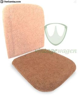 VW Split front seat pad section up to 1955