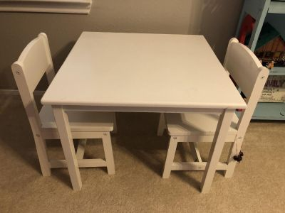 KidKraft kids table and chairs