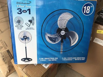 Industrial Fan !! Will come as shown !!
