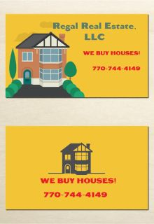 We Buy Houses, AS IS! No Realtor Commissions! Metro Atlanta Area