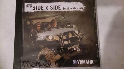 Find 07 Yamaha Side x Side PC Disc Service Manual *NEW* motorcycle in Richlandtown, Pennsylvania, US, for US $19.99