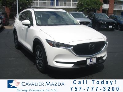 2018 Mazda CX-5 Grand Touring (Snowflake White Pearl)