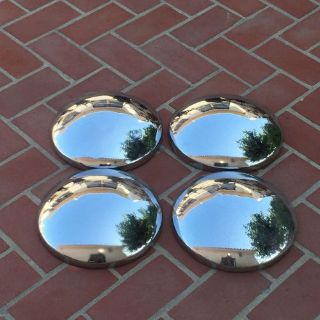 "Find 1956 Dodge Truck Hub Caps Set of (4) 10 "" Dog Dish Bowl Used Reproductions motorcycle in Santa Clara, California, United States, for US $99.00"