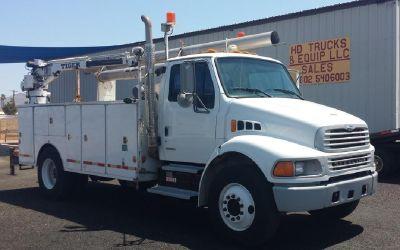 2001 Sterling Acterra Service Truck **41 K Miles** Cummins Diesel