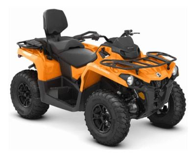 2019 Can-Am Outlander MAX DPS 450 Utility ATVs Cartersville, GA